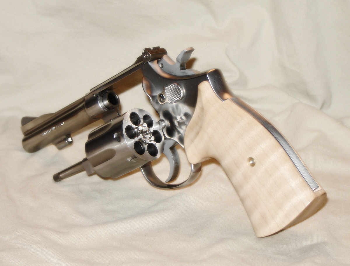 Smith and Wesson Model 67 Combat Masterpiece
