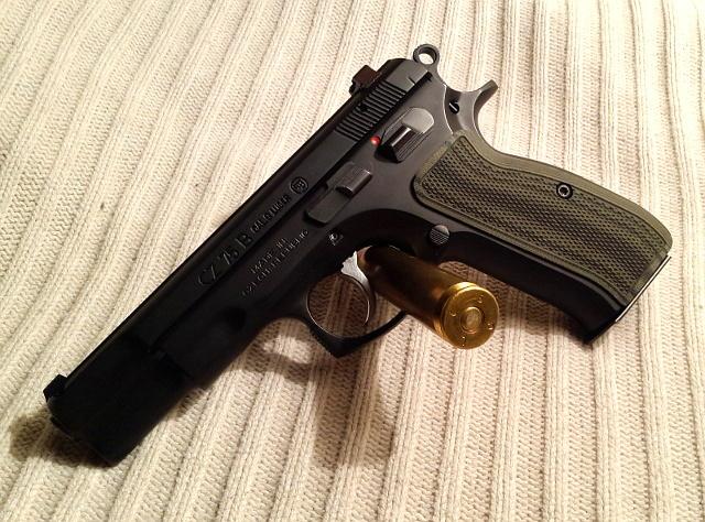 VZ Grips on a CZ-75
