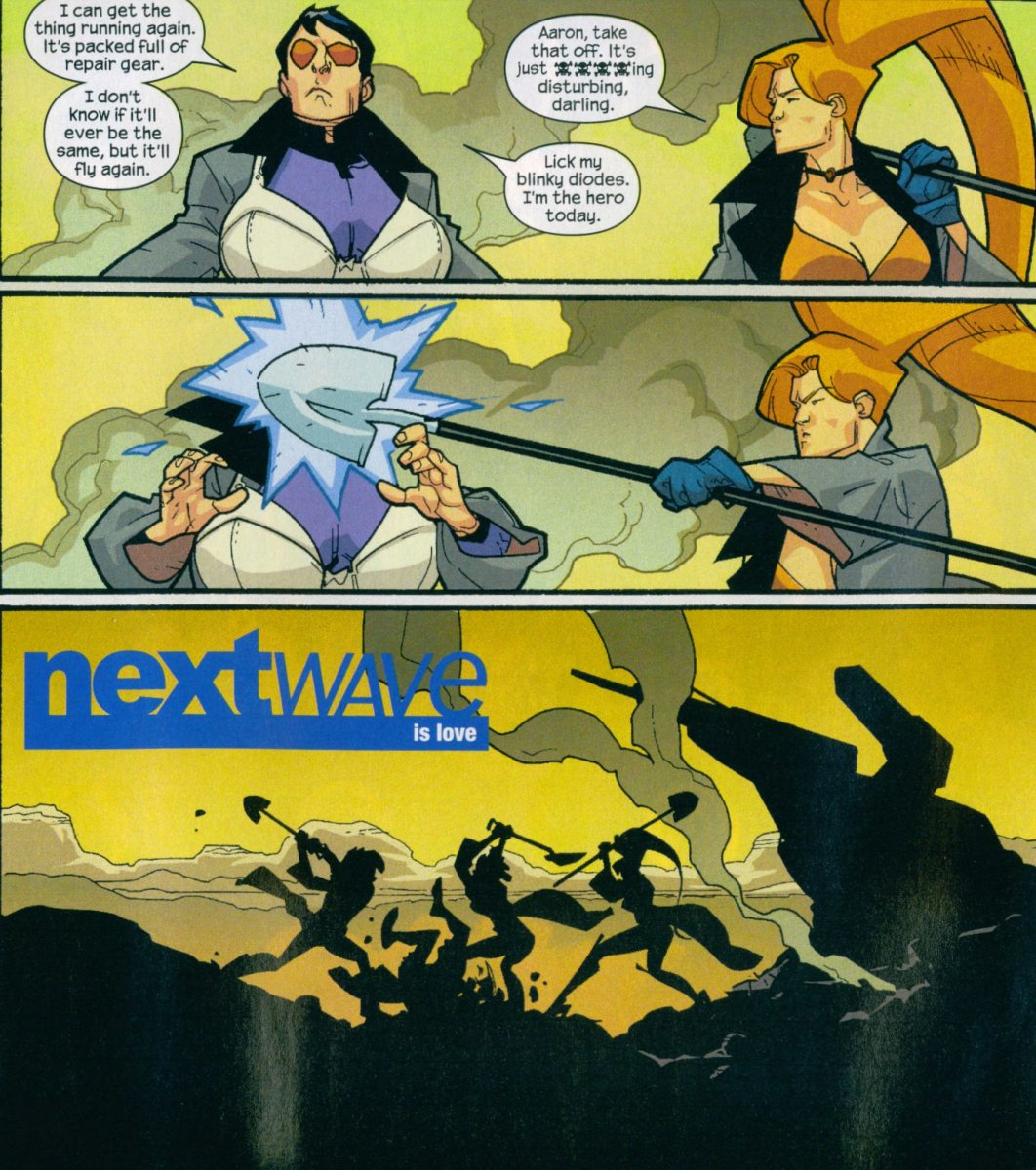 Nextwave Is A Bloody Brilliant Comic Book That Everyone Should Read